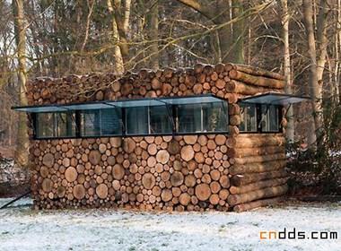独特树干屋设计