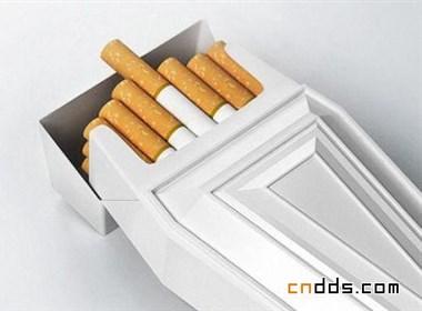 創意設計--棺材香煙盒