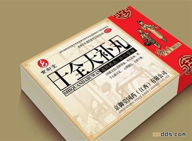 几个漂亮的中国传统风格药品包装设计