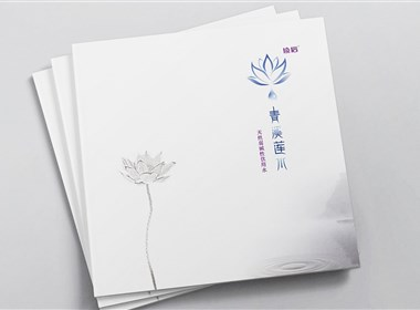 新生代品牌创意设计:青溪莲水画册设计
