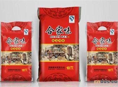 农作物大米包装袋设计