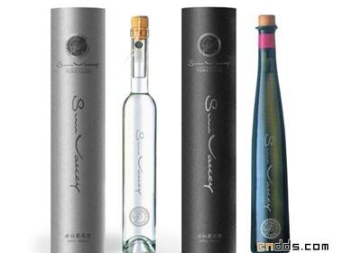 中国元素白酒、红酒包装设计