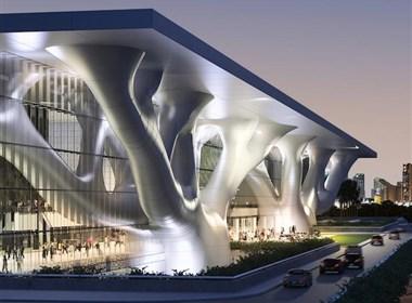 现代建筑欣赏:卡塔尔会议中心