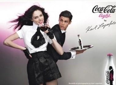 跨界设计!!香奈儿时尚大帝限量版可乐瓶