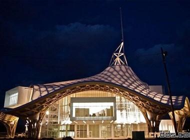 法国梅斯蓬皮杜中心建筑设计