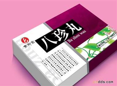 几个漂亮的中国传统风格药品包装