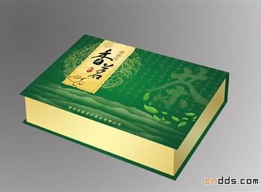 茶籽油高山绿茶包装盒设计