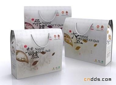 家纺棉被包装盒设计