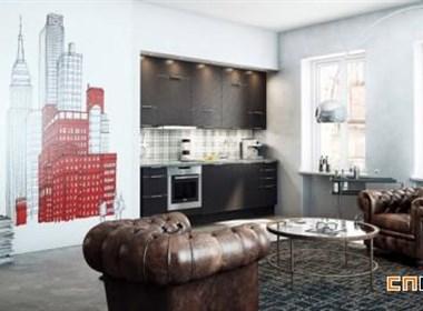 纳维亚风格厨房设计