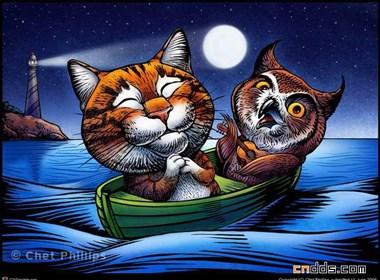 美国Chet Phillips插画作品