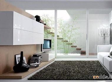 简洁完美的现代客厅家具设计