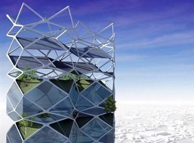 为墨西哥城设计的垂直花园