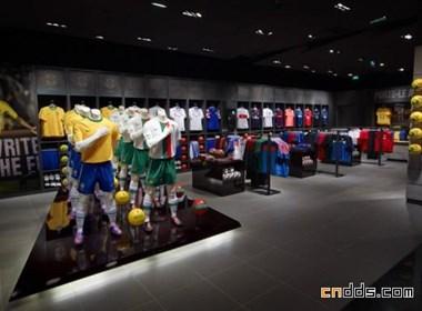 巴黎Nike Bootroom室内设计