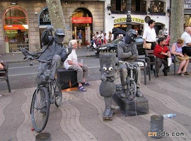 国外街头雕塑艺术系列