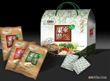果蔬米饭杂粮包装盒设计