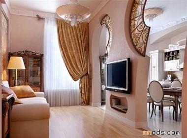 漂亮的室内装修渲染效果图
