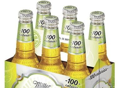 酸橙口味的冷藏Miller啤酒欣赏