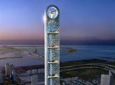 迪拜的爱娜若塔摩天大厦