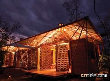 哥斯达黎加月亮森林小屋