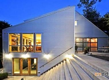 国外80后设计师自建的超牛别墅