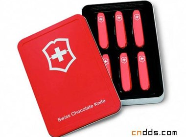 """""""瑞士军刀""""巧克力一赏"""