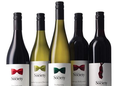 Wine Society酒最新包装