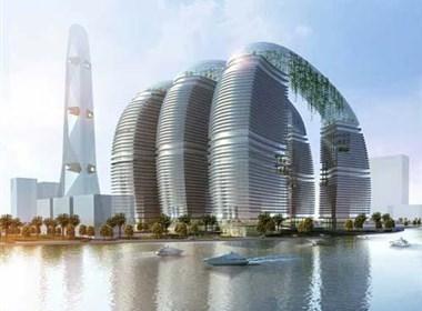 """迪拜城中城""""侏米拉花园""""设计"""