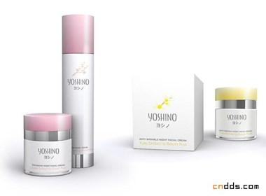 yoshino化妆品包装设计