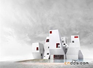 国外建筑欣赏:8塔式建筑