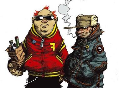 法国插画家Julien Lois的怪诞风格作品欣赏