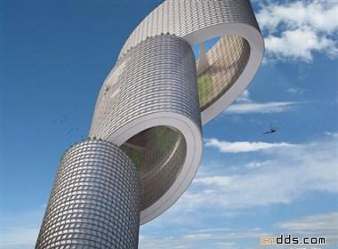 垂直的城市(Vertical City 效果图欣赏)