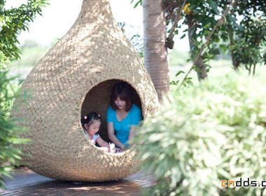 稻草小屋设计