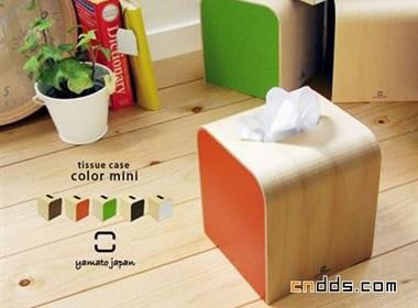 不同风格的纸巾包装盒设计
