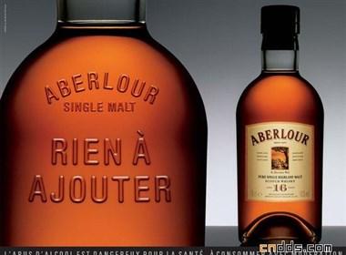 漂亮的威士忌酒包装设计
