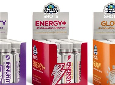Happy Planet能量饮料包装欣赏