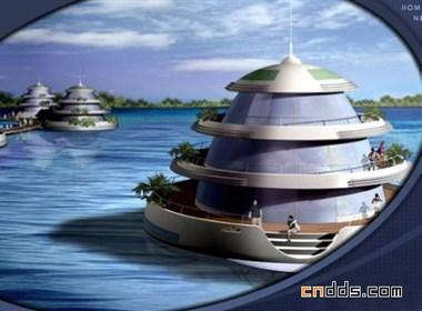 梦幻的海洋住宅