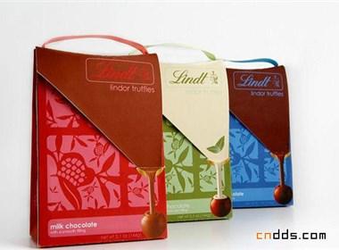 林特巧克力奶糖包装