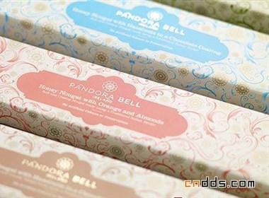 设计精致,色彩鲜艳的糖果包装