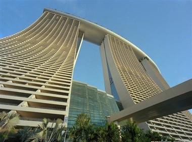 新加坡Marina Bay Sands空中花园