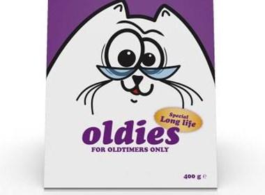 Q版颜色鲜亮的Katz牛奶包装