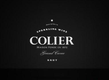 商业女性香槟酒Colier包装设计