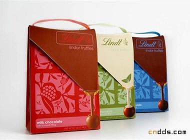 lindt林特巧克力奶糖包装
