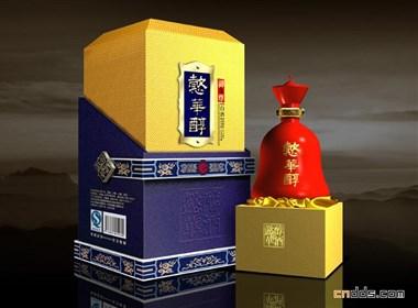 一些高档白酒的包装盒设计