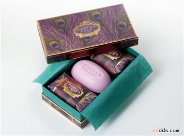 温馨浪漫的香皂包装设计欣赏