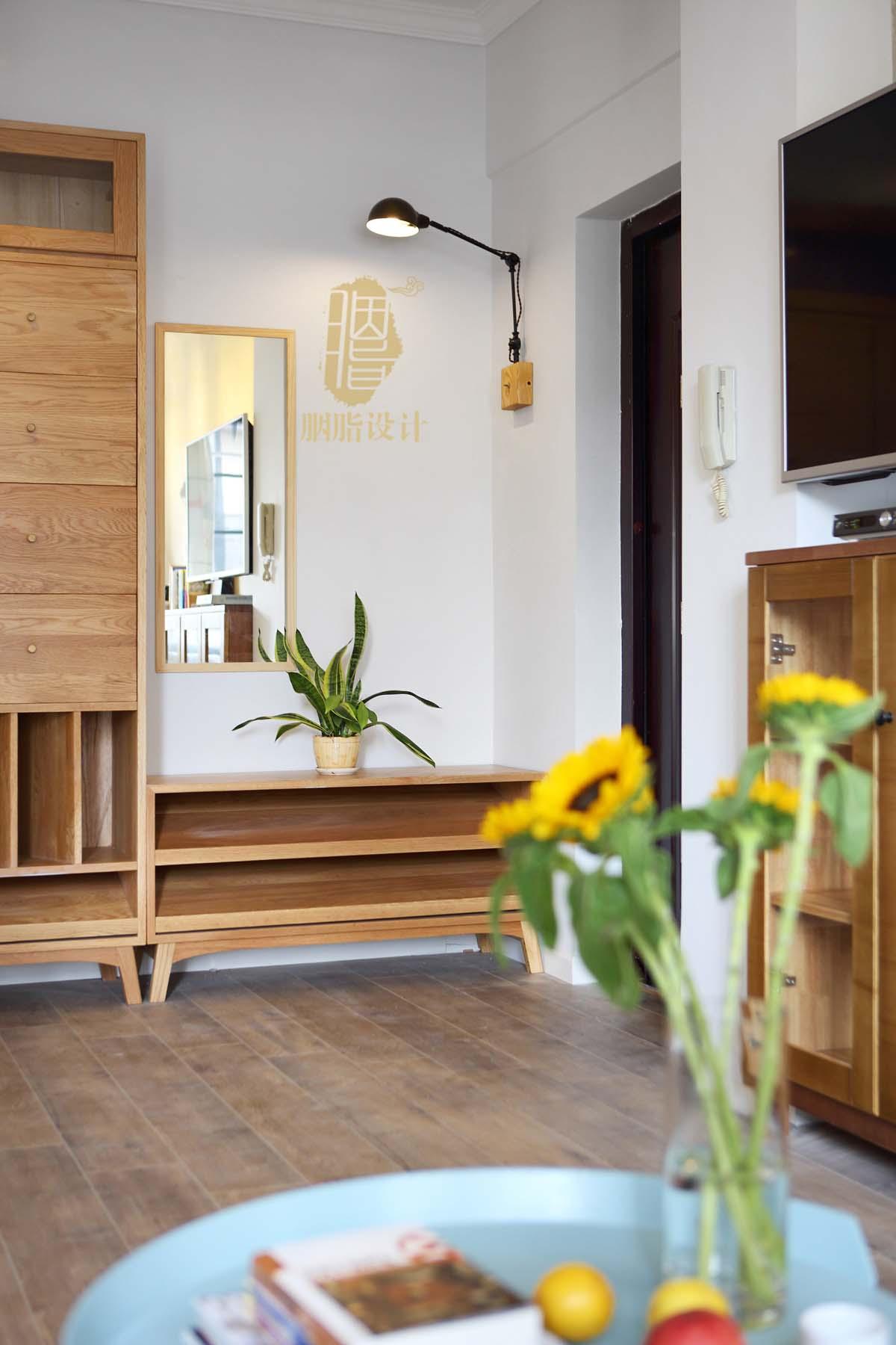 胭脂原创设计:华工旧房改造2—素简生活