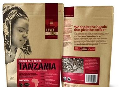 维多利亚咖啡包装设计