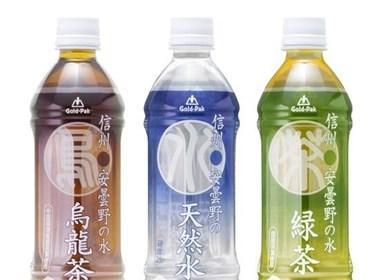 日本茶饮料类瓶装设计