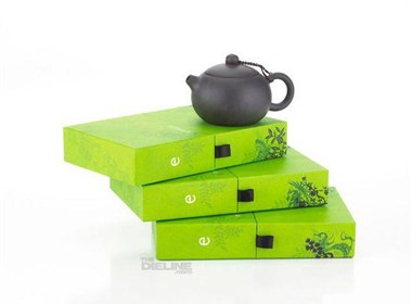 绿色风格茶叶(Emeyu Tea)包装设计欣赏