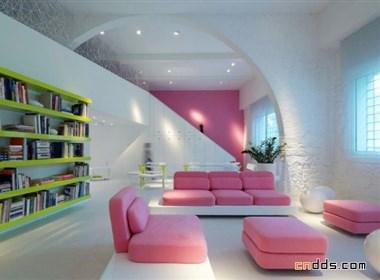 简约温馨住宅设计