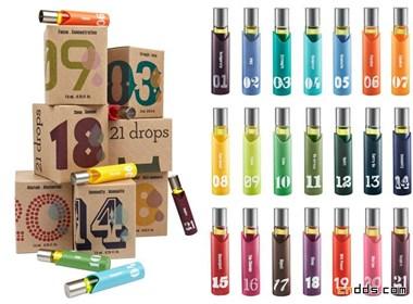 21 Drops包裝設計欣賞
